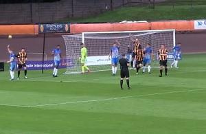 Berwick Rangers fans footage